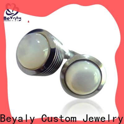 BEYALY design links mens cufflinks Supply for ceremony for advertising promotion