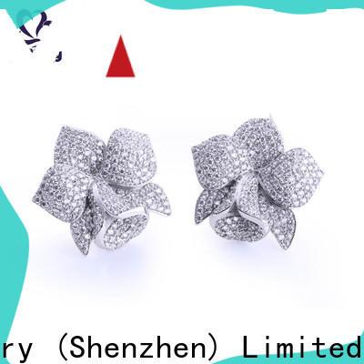 BEYALY stylish cz stud earrings company for women