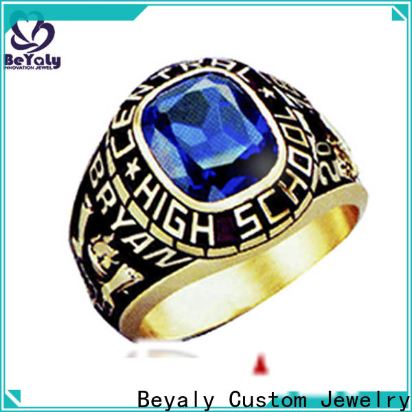 professional custom college graduation rings painting Suppliers for school