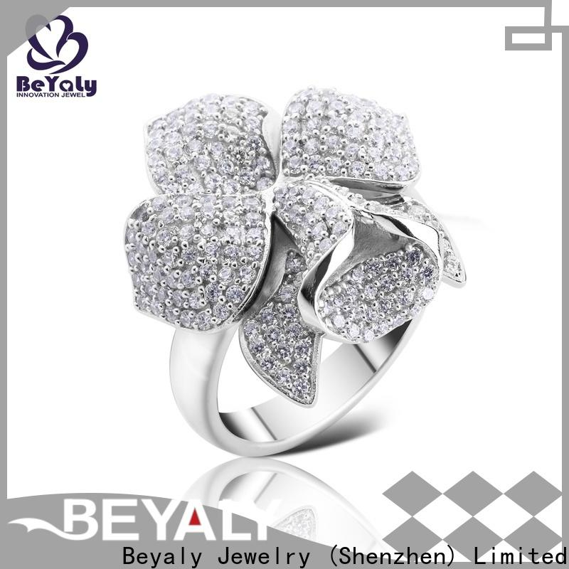 Latest over the top wedding rings mens Supply for women