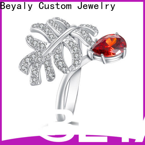 BEYALY steel popular fashion rings manufacturers for men