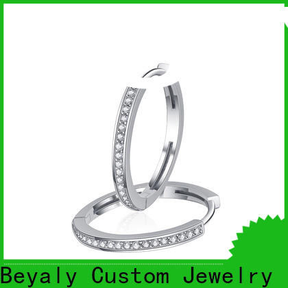 Custom buy dangle earrings diamond for business for exhibition