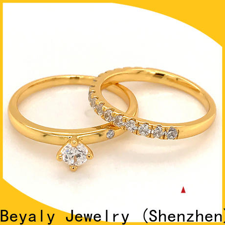 BEYALY inlay rings popular manufacturers for wedding