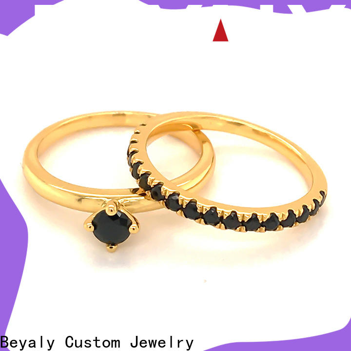BEYALY promise most elegant wedding rings Supply for wedding