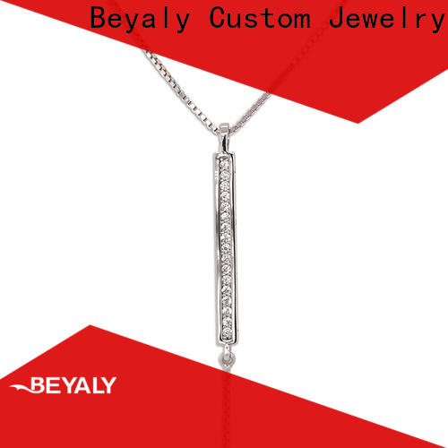 BEYALY pendants silver pendant necklace for business for girls