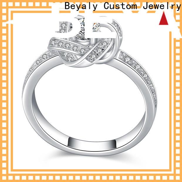 Best most popular mens rings platinum Supply for wedding