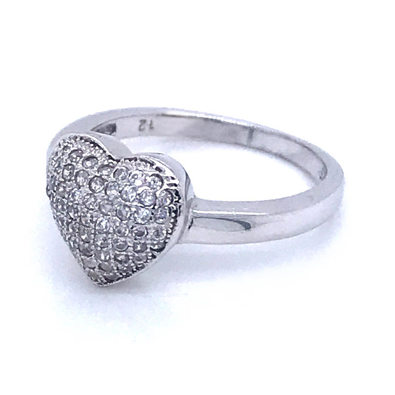 product-BEYALY-925 Sterling Silver Ring Jewelry Love Heart Shaped Ring-img