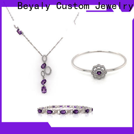 BEYALY Custom fancy jewellery set company for advertising promotion