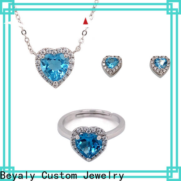 BEYALY High-quality fashion jewellery necklace set factory for advertising promotion