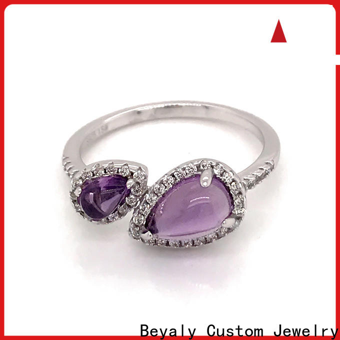 Wholesale most popular ring settings zircon factory for daily life