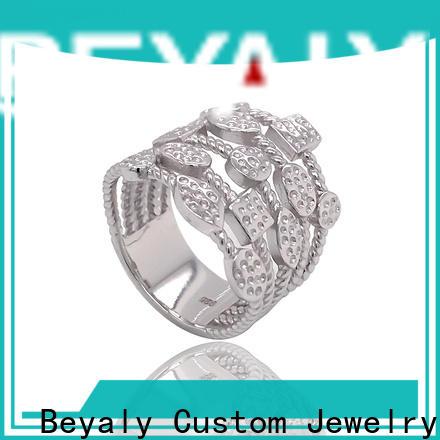 BEYALY Latest platinum diamond band ring company for wedding