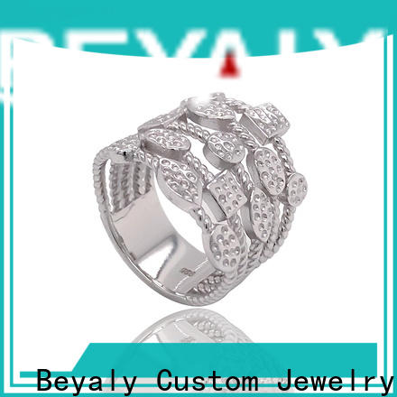 BEYALY Latest platinum diamond band ring company for wedding