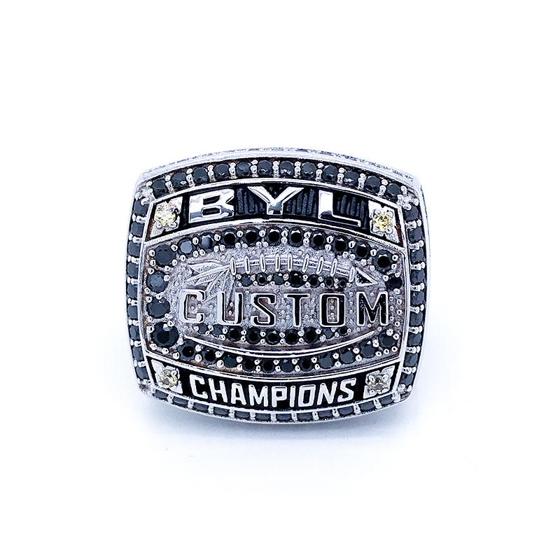 BEYALY champions national championship football rings company for player