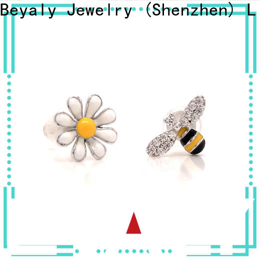 BEYALY Latest small diamond stud earrings for cartilage for business for business gift