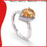 BEYALY Top gold inital ring for business for women