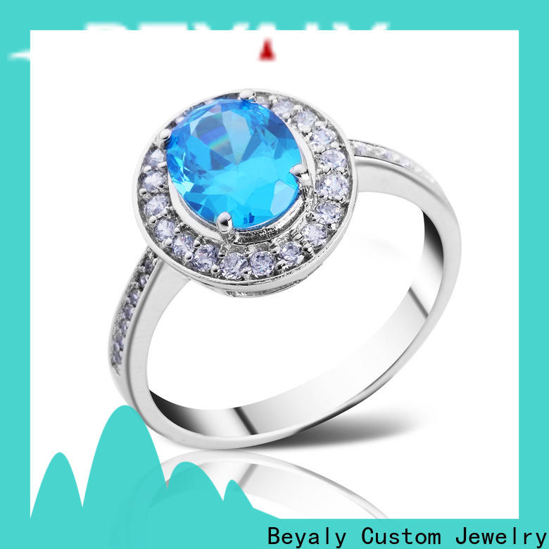 BEYALY plating popular wedding rings for women for business for women