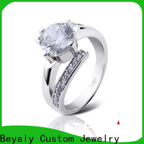 BEYALY Wholesale most elegant wedding rings factory for daily life