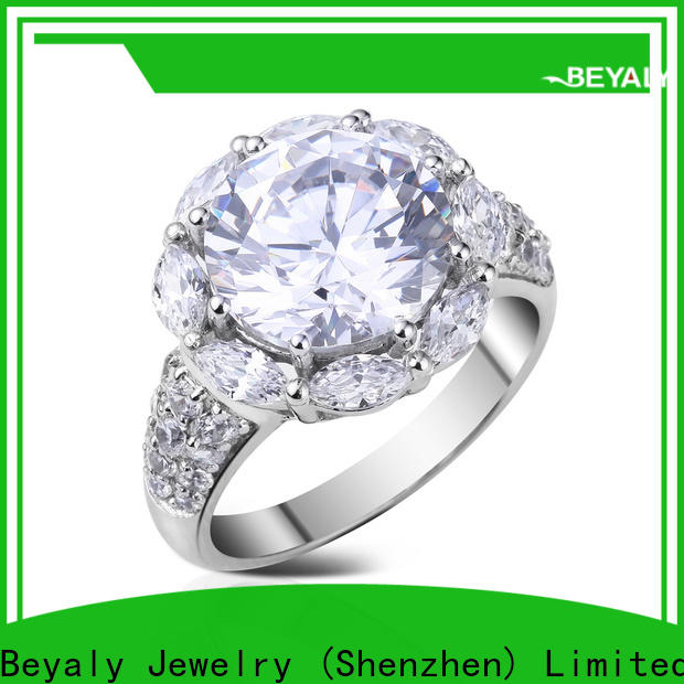 New sterling silver ring platinum factory for men