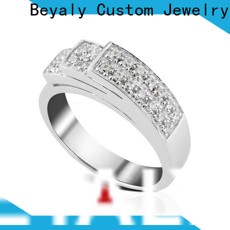 Custom top selling wedding rings stone company for wedding