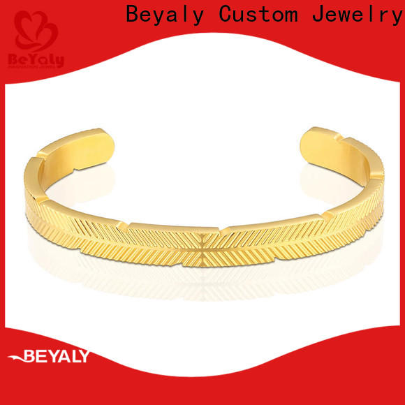 Latest silver hoop bracelet fashion Suppliers for advertising promotion
