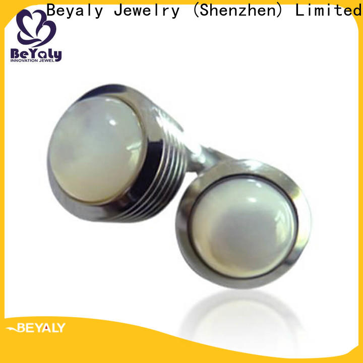 BEYALY mesh trombone cufflinks company for engagement