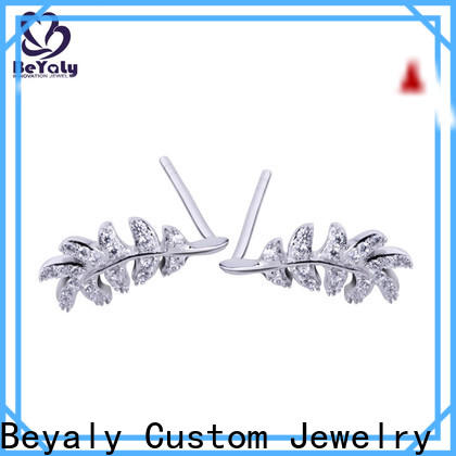 BEYALY big gold hanging earrings with price Supply for women