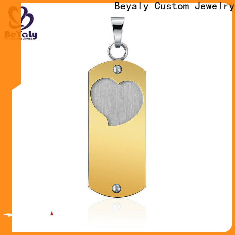 BEYALY Custom gold travel charms for bracelets company