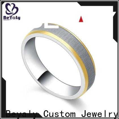 Latest most common wedding ring micro for business for men
