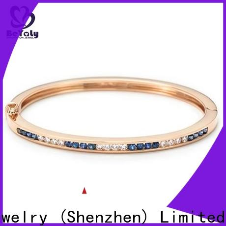 BEYALY Custom gold band bracelet with circles Suppliers for advertising promotion