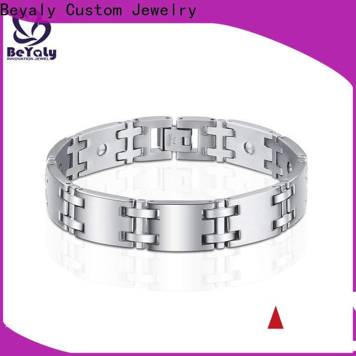 BEYALY fashion sterling bangle charm bracelet Supply for ceremony