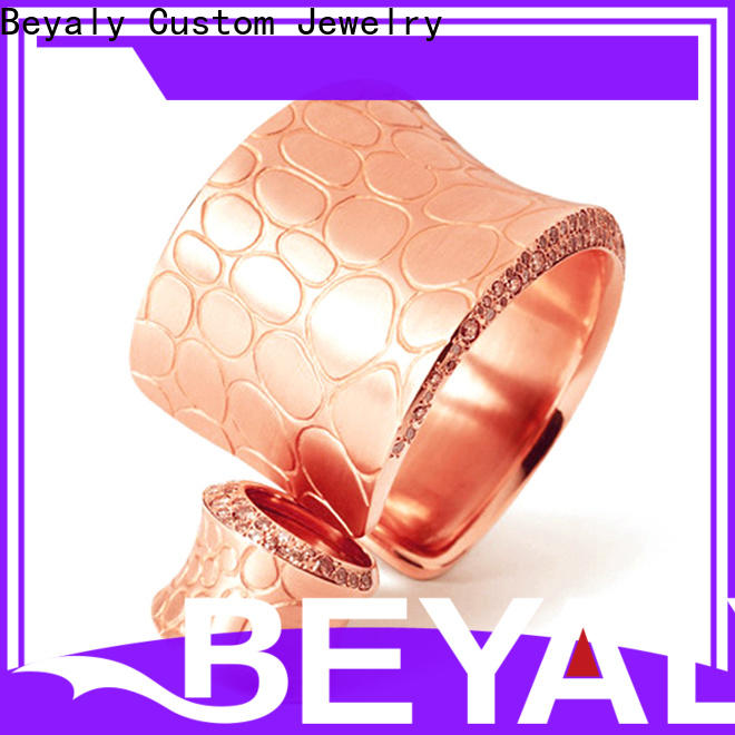 BEYALY silver silver hoop bracelet factory for business gift