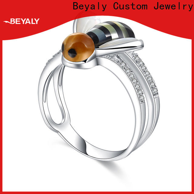 customized most popular diamond ring designs sterling Suppliers for daily life