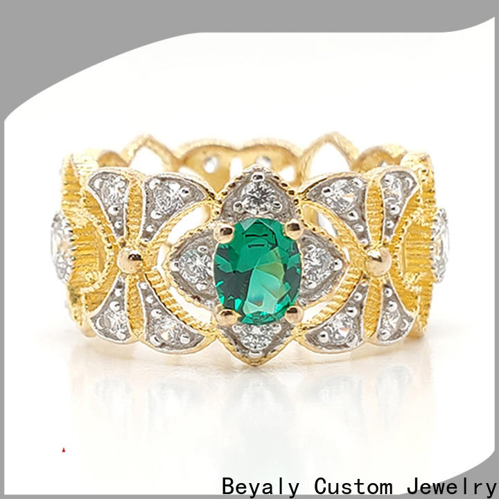 BEYALY Best stainless steel princess crown ring for business for women