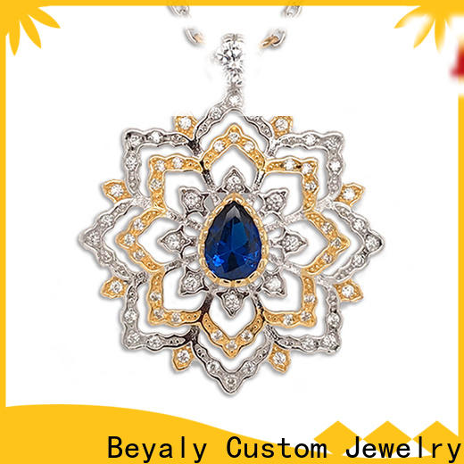 BEYALY brilliant jewelry necklace chain Supply for girls