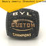 BEYALY word mens football rings for player