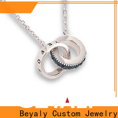 BEYALY tooth thin silver chains for womens company for wife