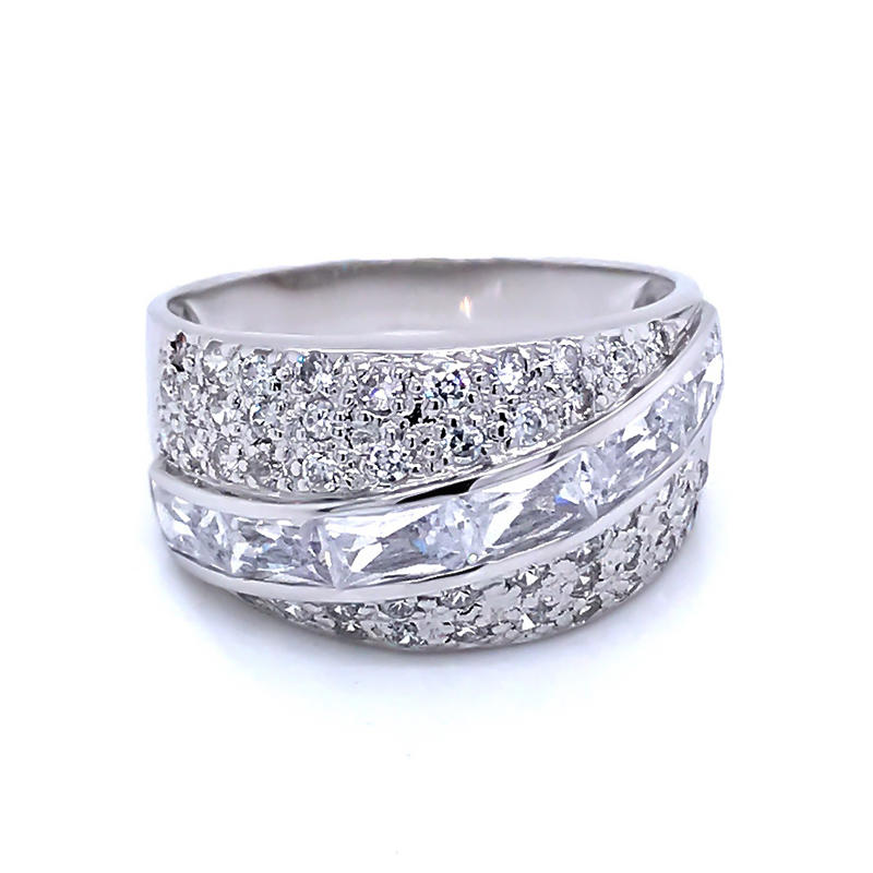 product-BEYALY-oblique cubic zircon half pave silver 925 ring-img