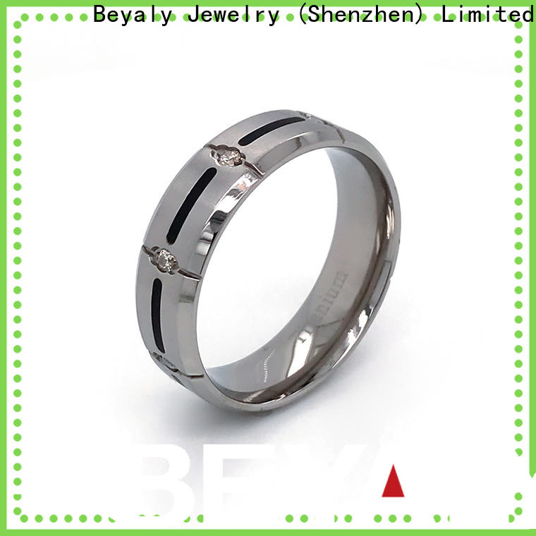 BEYALY diamond best engagement bands Suppliers for daily life