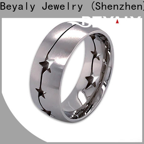 BEYALY stone top engagement ring settings Suppliers for daily life
