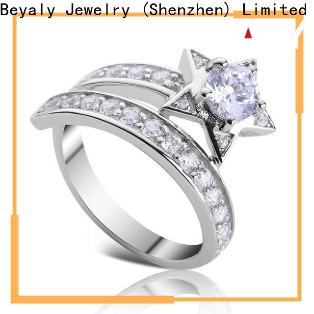 BEYALY Best most popular engagement ring cut Supply for women