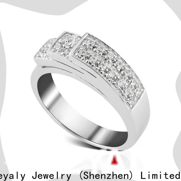 BEYALY Wholesale popular diamond ring styles for business for men