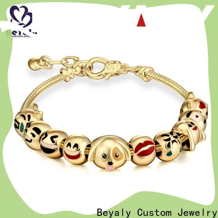 BEYALY screw rose gold bangle charm bracelet Suppliers for business gift