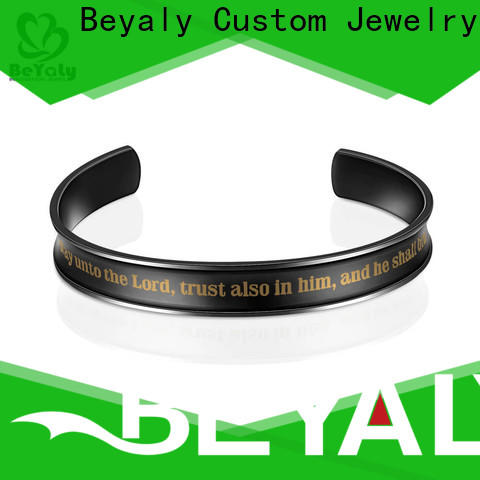 BEYALY design gold bracelet with circles on it manufacturers for advertising promotion