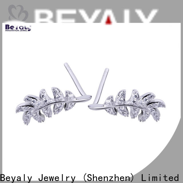 zirconia stud earrings blooming company for business gift