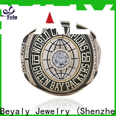 BEYALY hilltops semi pro football championship rings company for athlete