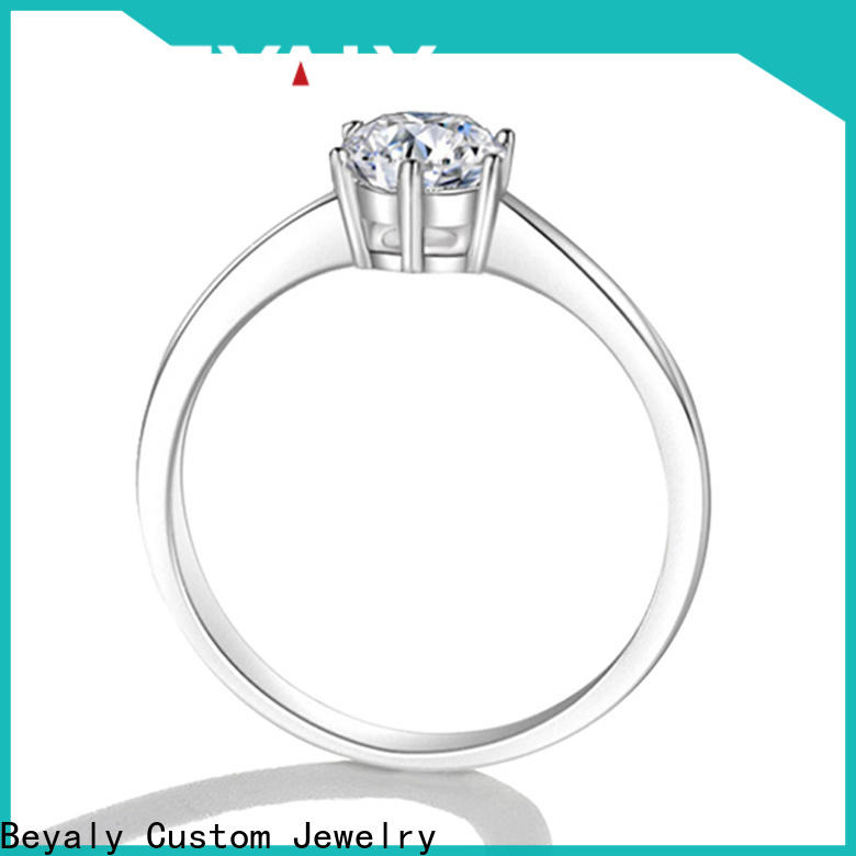 BEYALY Latest most popular diamond engagement rings Suppliers for wedding