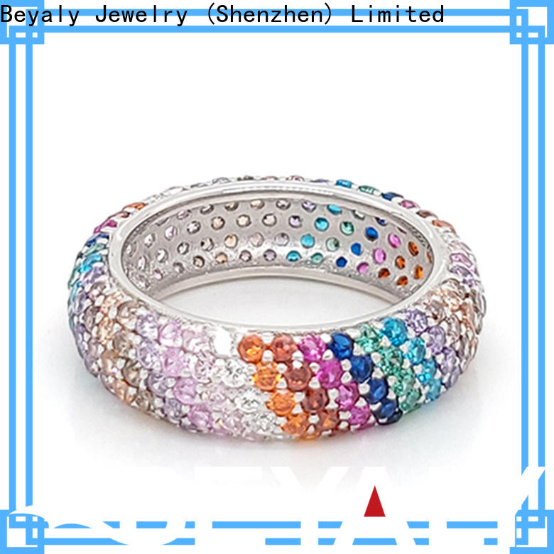 BEYALY jewelry most popular engagement ring cut manufacturers for women