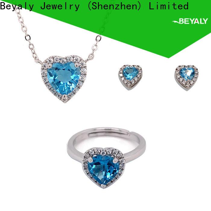 BEYALY fashion jewellery necklace set Supply for anniversary celebration
