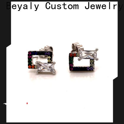BEYALY New zircon earring manufacturers for anniversary celebration
