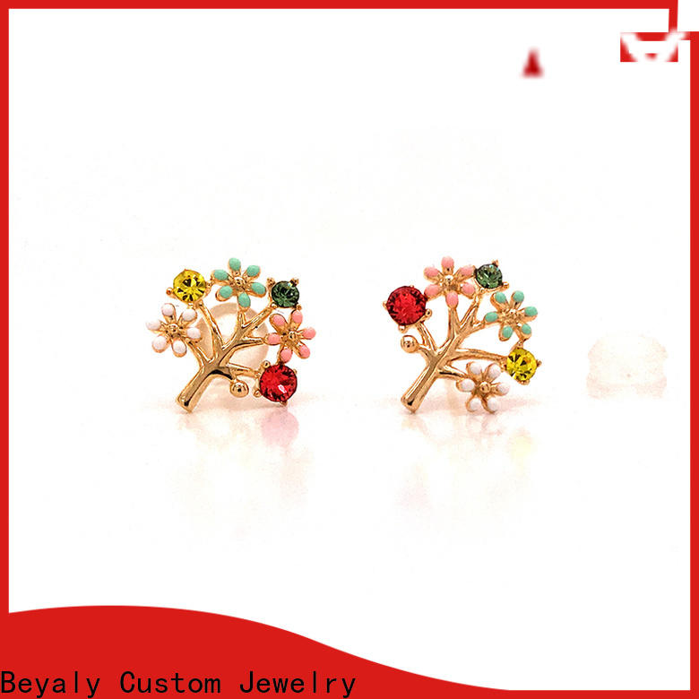 BEYALY unique earrings and jewelry for business for advertising promotion